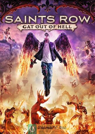 Saints Row Gat Out of Hell Cover PC Game