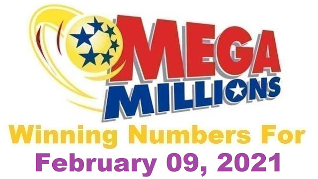 Mega Millions Winning Numbers for Tuesday, February 09, 2021