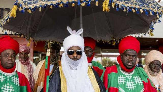 "The Emir of Kano, says he accepts his dethronement as the ""will of God""."