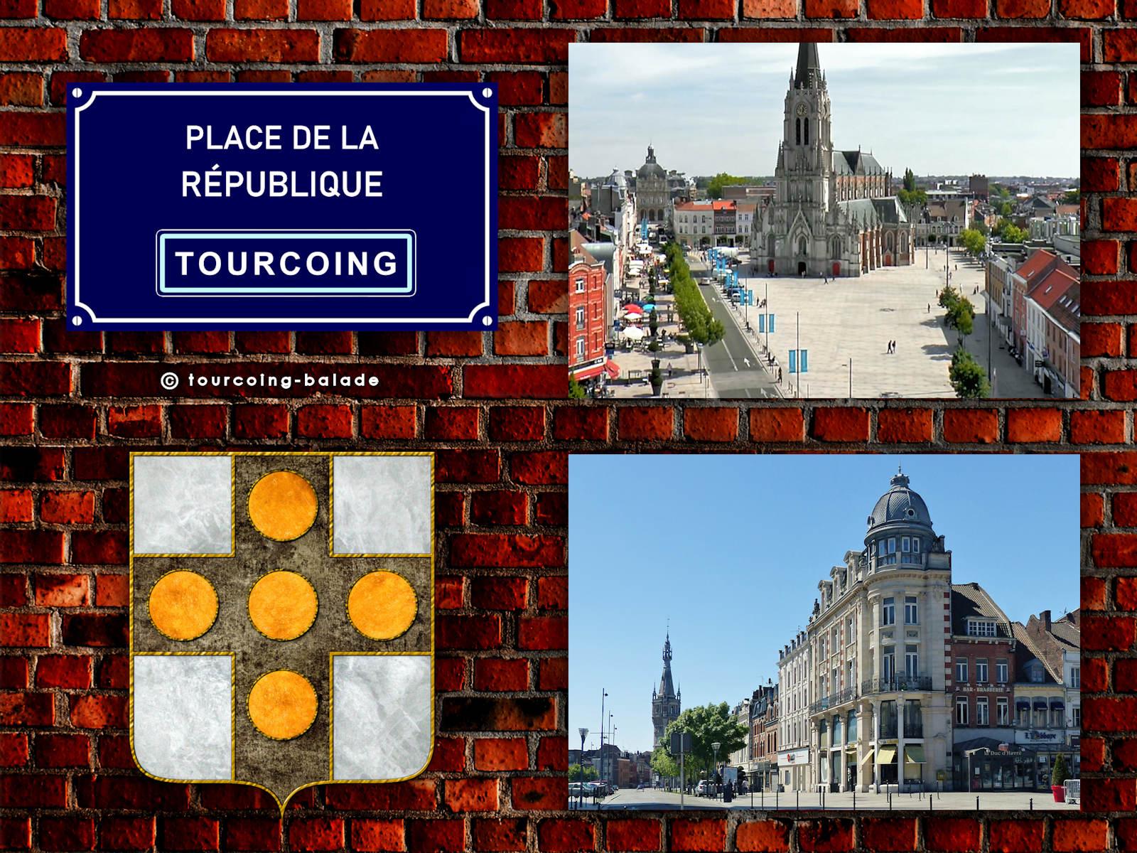 Tourcoing, Place de la République, 2020