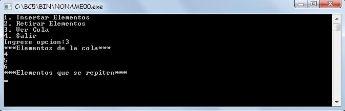 c++ - insertar encolar y desencolar