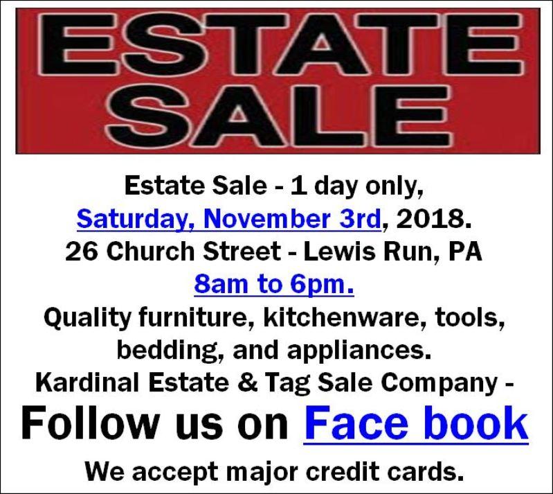 https://www.facebook.com/Kardinal-Estate-Tag-Sale-Company-207383916657535/