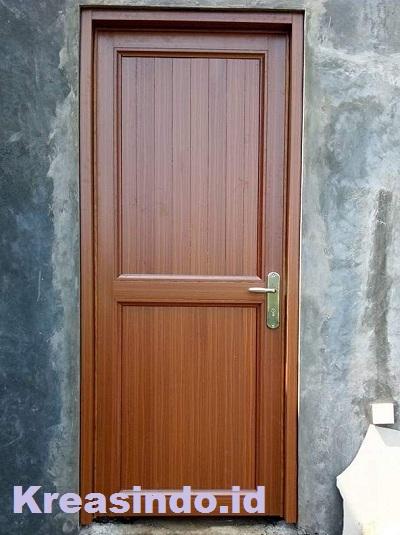 Harga Pintu Aluminium Urat Kayu dan Kusen Aluminium Urat Kayu