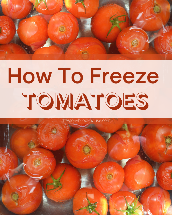 How To Freeze Leftover Tomatoes