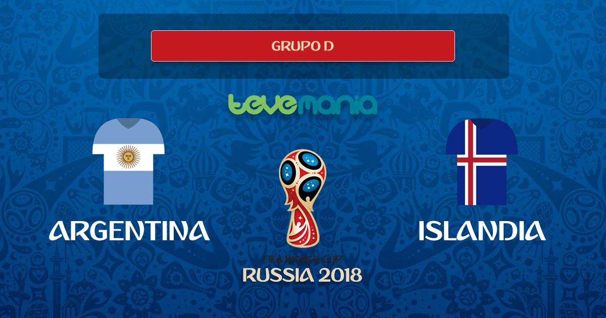 Argentina empata con Islandia 1 a 1, Messi falló un penal