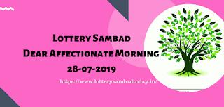 Lottery Sambad,Dear Affectionate Morning