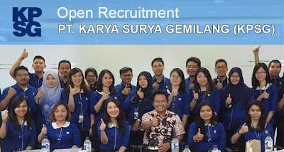Lowongan Kerja SMA SMK D3 S1 PT. Karyaputra Suryagemilang (KPSG) Jobs: Driver, Call Center Inbound, Tele Sales-Telemarketin, Etc