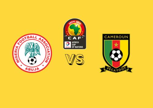 Nigeria vs Camerún  Resumen
