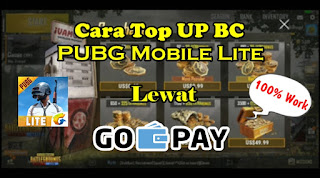 Cara Top Up PUBG Mobile Lite Lewat GO-PAY