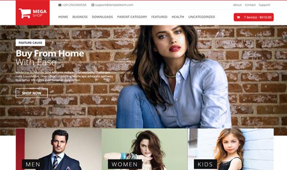 Mega Shop Ecommerce Responsive Blogger Template Templateism