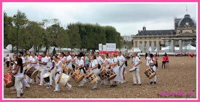 troupe de percussionnistes village la parisienne 2016
