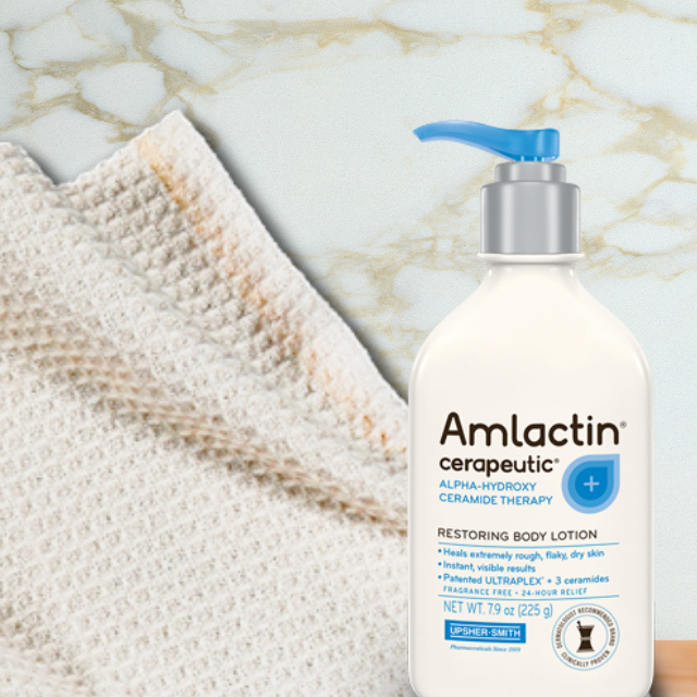 Skincare for your hands and stomach with AmLactin® Cerapeutic® Restoring Body Lotion, by Barbies Beauty Bits