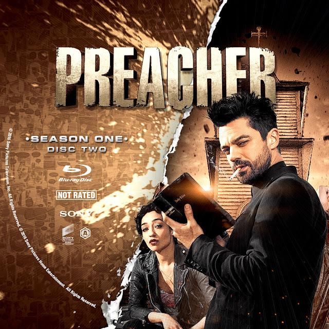 Label Bluray Preacher Disco 2
