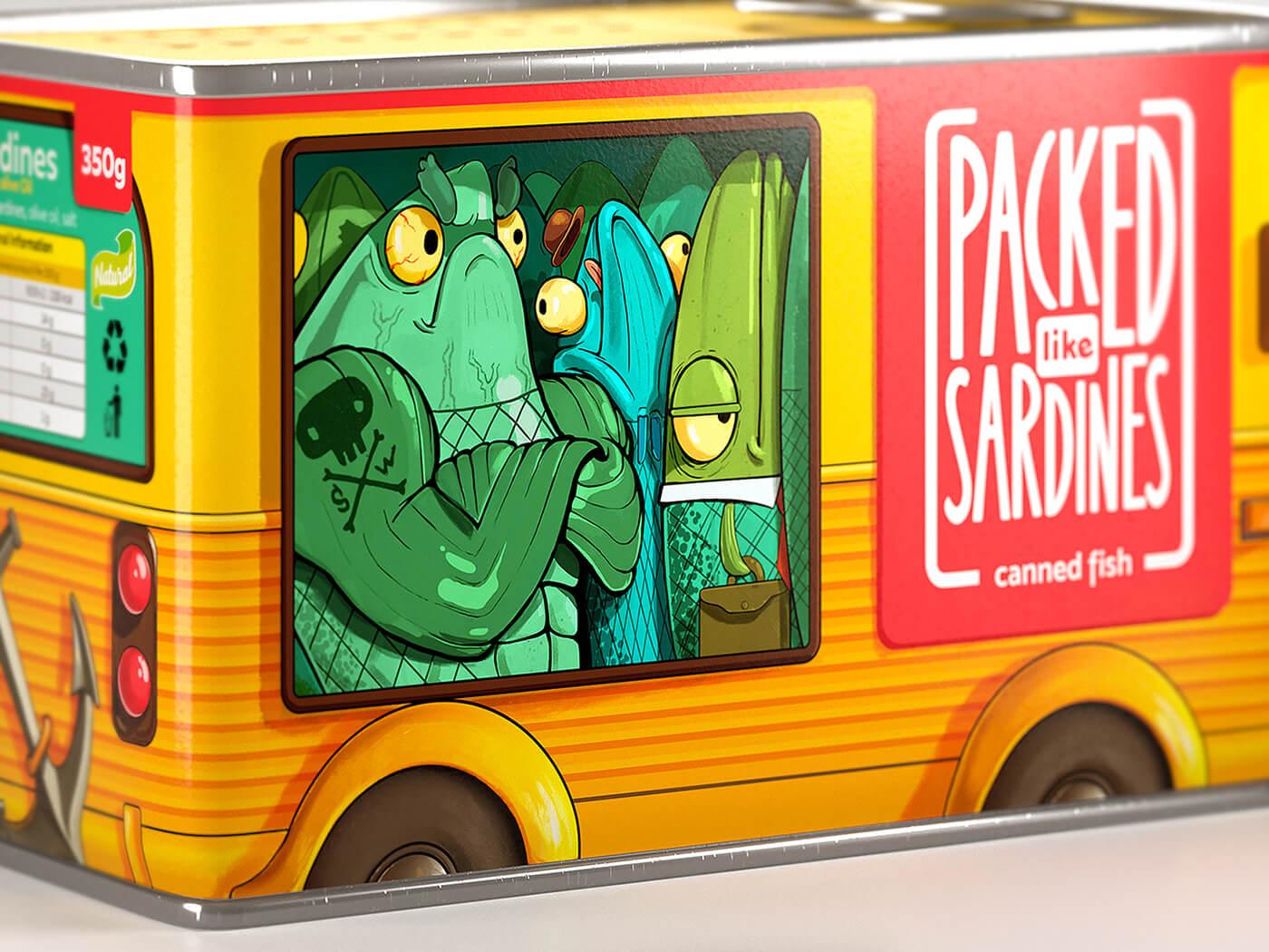 Brandiziac Packed like Sardines | Packaging