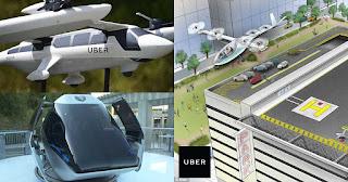 Η Uber παρουσίασε τα πρώτα ιπτάμενα ταξί που θα κυκλοφορήσουν το 2020