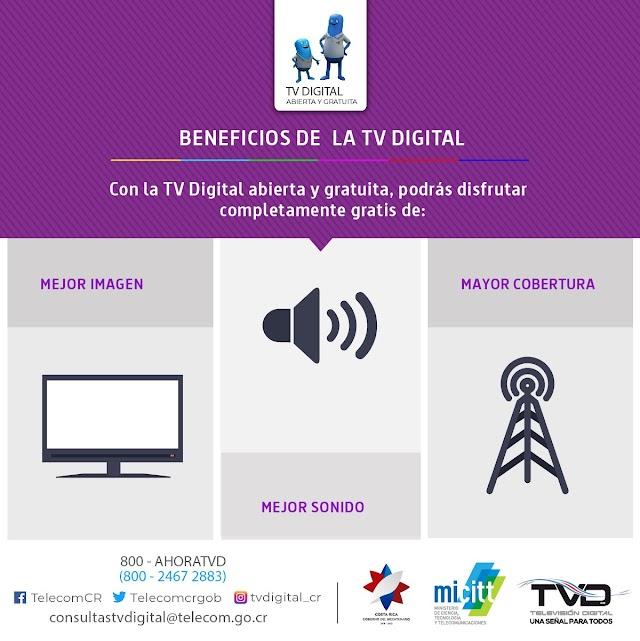 Preguntas y Respuestas de la Televisión Digital Abierta en Costa Rica