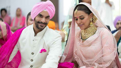 नेहा धुपिया ने अंगद बेदी से की शादी