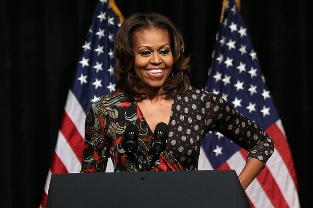 Michelle-Obama-Visits-DC-High-School-To-Discuss-Importance-Of-Education