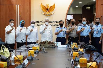 Tim Deputi Pengembangan Setjen Wantannas, Dorong Sektor Pertanian dan Perkebunan Sumsel  Perkuat Ketahanan Nasional