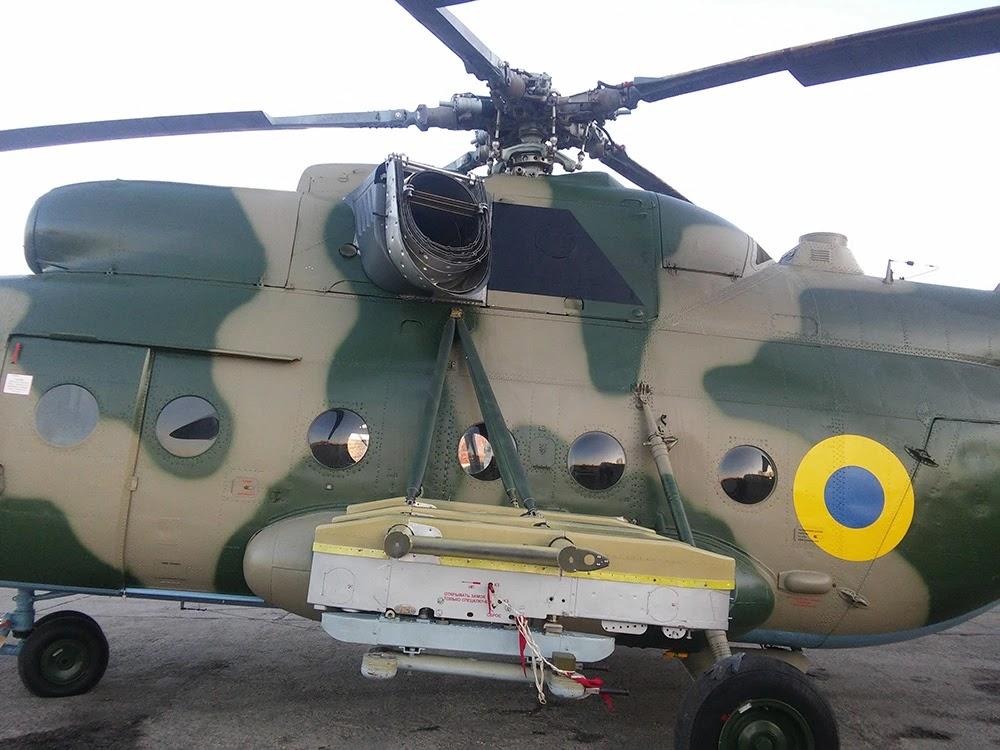 Два армійських Мі-8 дообладнають системами захисту