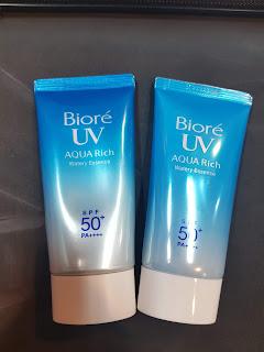 Pack Biore UV Aqua Rich palsu
