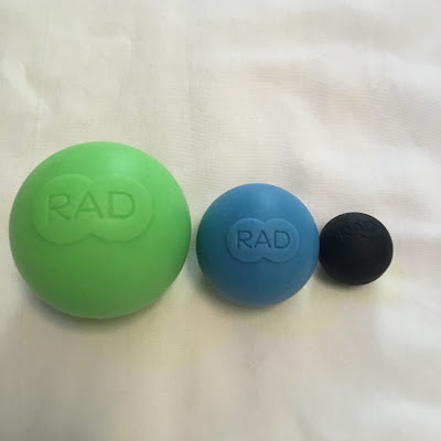 massage ball foam rolling Rad Rounds sphere