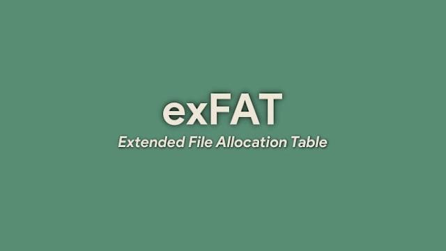 Apa itu exFAT