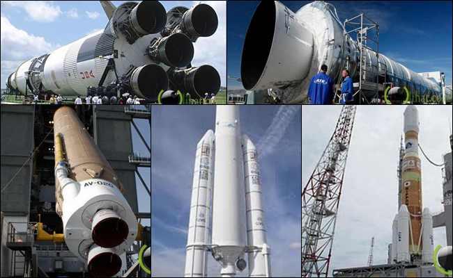 10 Roket Super Besar yang pernah Dibuat Manusia di Dunia