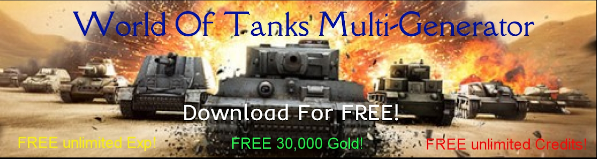 cheat world of tanks money