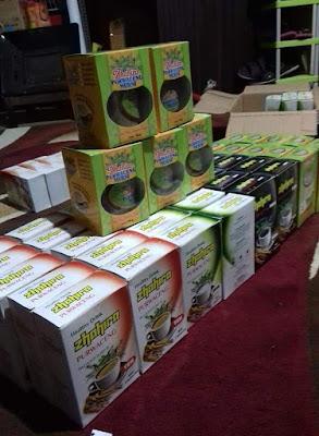 produk olahan purwaceng khas Dieng Plateu