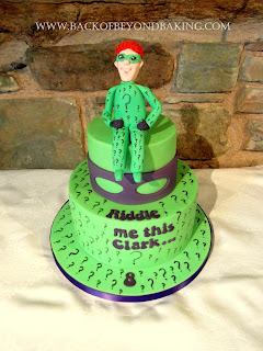 riddle me this birthday cake