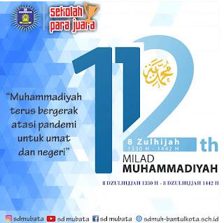 MILAD MUHAMMADIYAH KE 112