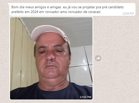 """Roncador: Enquanto isso nas redes sociais... """"Santo Coelho"""" pretende disputar a prefeitura em 2024"""
