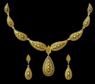 30 grams gold necklace design images