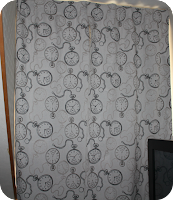 rideau, curtains,
