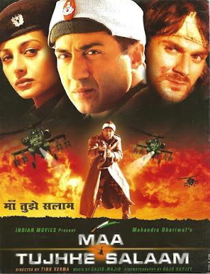 Maa Tujhhe Salaam (2002) Hindi 720p   480p HDRip ESub x264 1.1Gb   500Mb