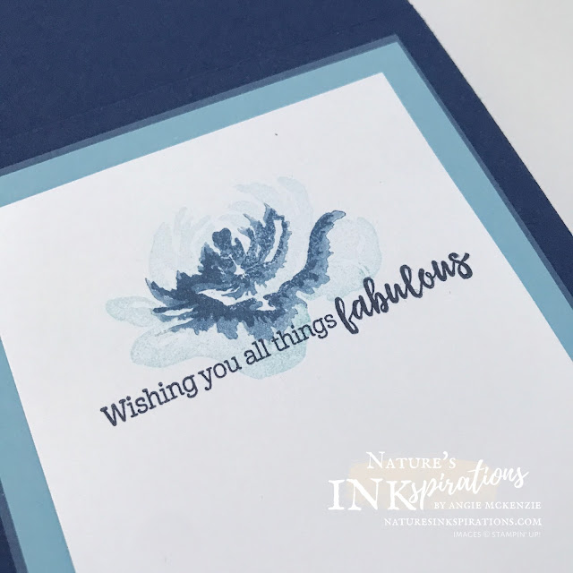 By Angie McKenzie for Crafty Collaborations Crafty Challenge Blog Hop; Click READ or VISIT to go to my blog for details! Featuring the All Things Fabulous Bundle and the Lovely Labels Pick A Punch from the 2020-21 Annual Catalog by Stampin' Up!; #colorinspirationchallenge #allthingsfabulousbundle #allthingsfabulousstampset #fabulousfloraldies #encouragementcards #floralcards #twostepstamping #heatembossing #lovelylabelspickapunch #cardtechniques #craftychallengebloghop #stampinup #naturesinkspirations #makingotherssmileonecreationatatime #worldwaterday2021