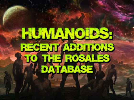 Humanoids 6: Recent Additions to the Rosales Database