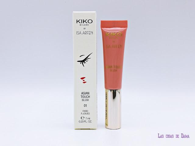 Asian Touch Isa Arfen  Kiko Milano maquillaje makeup colección cápsula Serafina Sama Beauty belleza accesorios 20 aniversario
