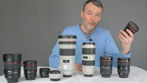 Canon lens course. The best lenses for your Canon DSLR