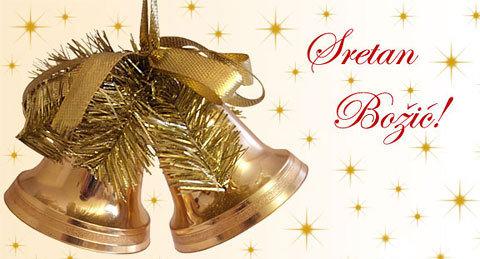 sms sretan bozic Božićne Slike, Čestitke, SMS: Sretan Božić uz zvončiće sms sretan bozic