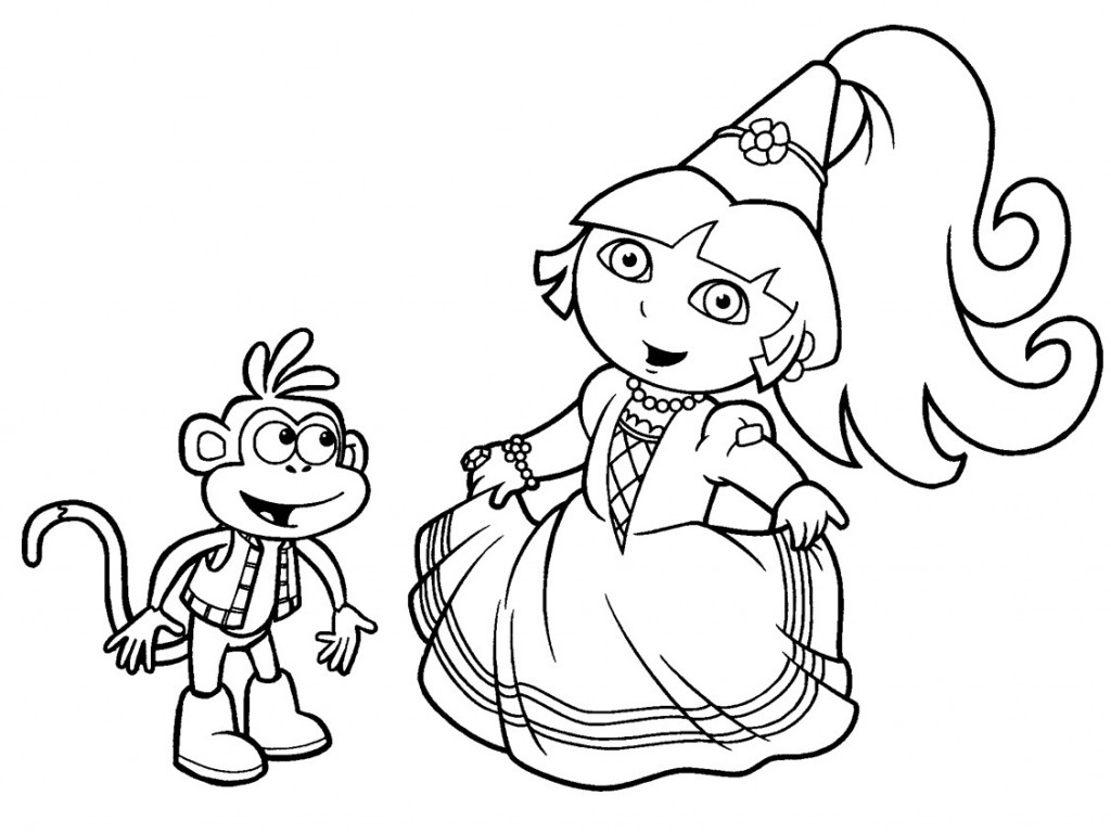 Brinquedos De Papel: Princesa Dora