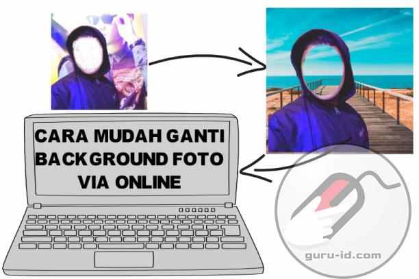 gambar cara edit background foto secara online