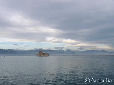 Bourdzi Nauplie Nafplio Argolide Peloponnèse Grèce