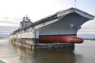 Το πολεμικό των... 46.000 τόνων! (ΒΙΝΤΕΟ)