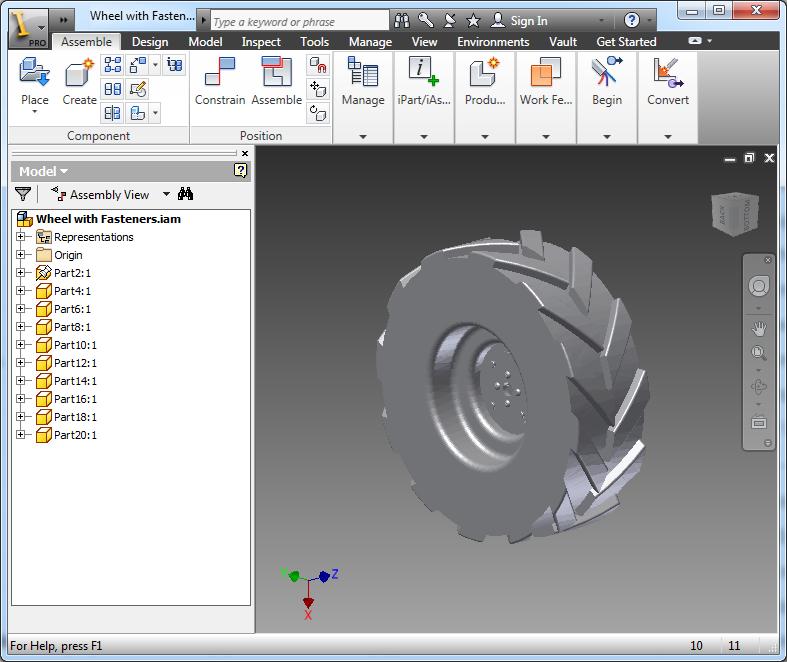Autodesk Inventor Professional 2015 + SP1 X86/x64 Full