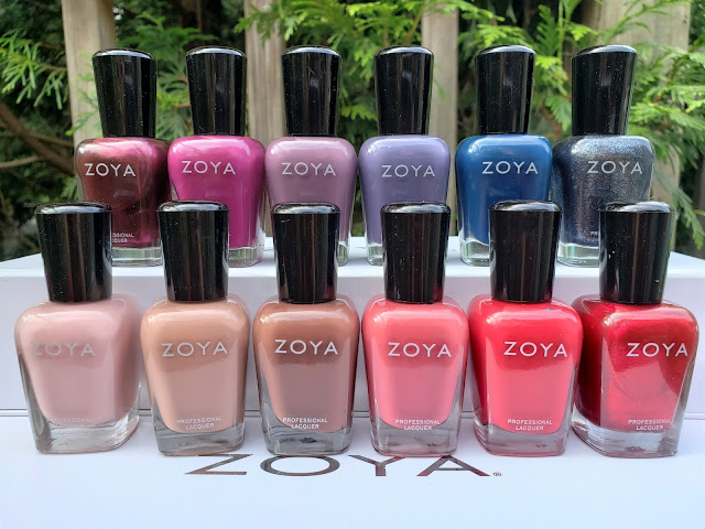 zoya sensual collection fall 2019