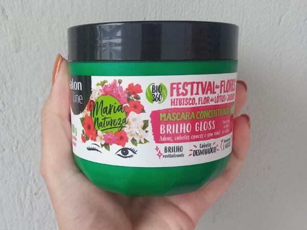 Máscara Concentrada Festival das Flores Salon Line