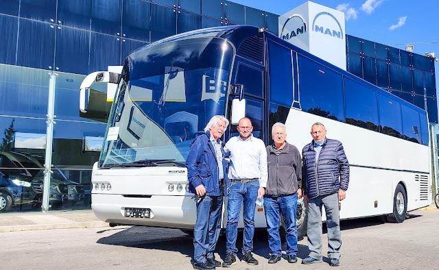 Λεωφορείο κόσμημα δωρεά ομογενή από το Σικάγο στον Δήμο Άργους Μυκηνών