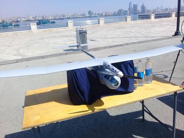 الطائرة دون طيار Skylark-1  suicide drone Loitering munition UAV
